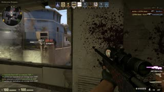 CS:GO - Awp Electric Hive Gameplay