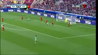 Video: Ronaldo Goal for Portugal