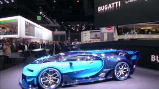 Bugatti brings virtual Gran Turismo supercar to life - Video