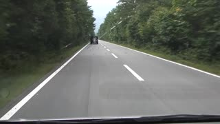 Rumble Strips On Japanese Road Play Musical Tune For Drivers - Video