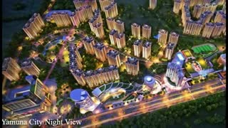Gaur Yamuna City Yamuna Expressway - Video