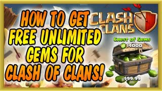 Clash of Clans GRATIS GEMS JUWELEN deutsch german - Video