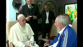 Pope meets Fidel Castro in Cuba - Video