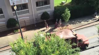 Captain America 3 Filming. - Video