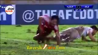 Soccer Players Fake Injuries While Playing - Video