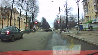 Police Chase In Russia - Video
