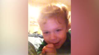 Cute Kid Has A Strange Way To Say Hippo - Video