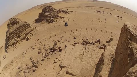 Briton Climbs The Smallest Pyramid In Giza With His GoPro, Despite Knowing It Is Strictly Forbidden