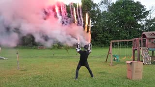 Fireworks Machine Gun - Video