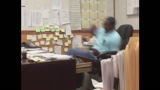 Man Pranked At Work - Video