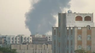 Saudi-led attack targets Sanaa air base - Video