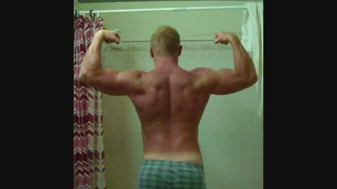 Timelapse: Bodybuilding progress over 100 days