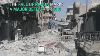 Amazing Drone footage captures apocalyptic aftermath of ISIS in Raqqa