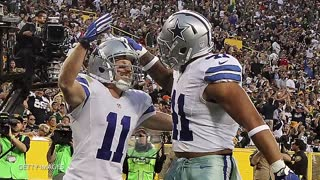 Ezekiel Elliott Throws Food At Dak Prescott During Press Conference - Video