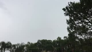 Slow Motion lightning strike. - Video