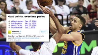 Stephen Curry Sets NBA Record with 17 Points in Overtime Win - Video