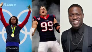 Watch The Rock, Kevin Hart, & J.J. Watt Do 22 Pushup Challenge - Video
