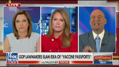 Chris Hahn Disrespects Mercedes Schlapp During Interview; Yells And Berates Her