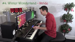 8 Christmas Songs in 8 Piano Styles in 1 MINUTE - Video