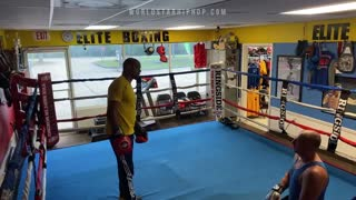 He Walked In Off The Street To Give A Boxing Lesson To Boxing Coach