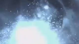 Hit in the face by firework explosion - Video