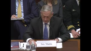 Congress Gets a Stern Reality Check From None Other Than James Mattis Over Looming Shutdown - Video