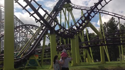 Russian attraction - roller coaster