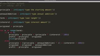 Make a Compounding Interest Rate Calculator with Python - Beginner Tutorial