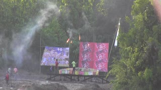 Thai Rocket Festival Starts With The Wrong Kind Of Bang - Video