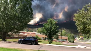 Basalt Mountain Wildfire