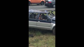 Queensland Traffic Accident - Video