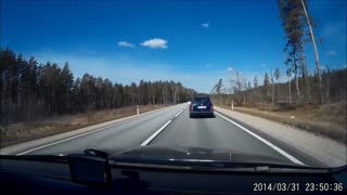 How People Drive In Latvia - Video