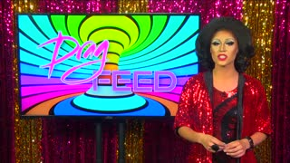 "Trixie Mattel and Shangela:  RUTURNING DRAG RACE QWEENS ""On The Set"" 