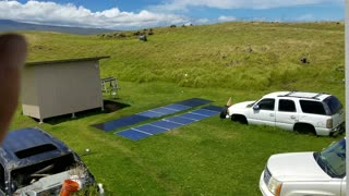 Guy Builds Solar and Wind Powered Bitcoin Minning System  - Video