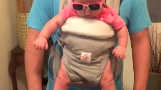 Dad And His Baby Daughter Show How Skillfully They Can Dance