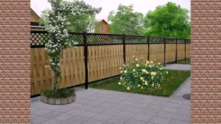 Best Beautiful wooden fences.- Styles Design
