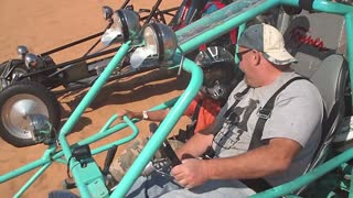 SandSquatch with new motor doing wheelies - Video