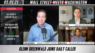 Glenn Greenwald Discusses Socialism With The Daily Caller