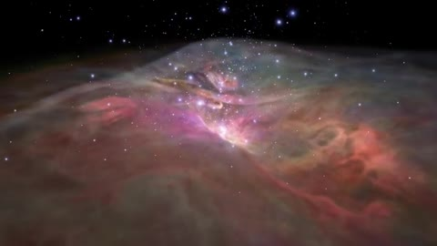 Take a sightseeing trip through the Orion Nebula in NASA's latest travel video