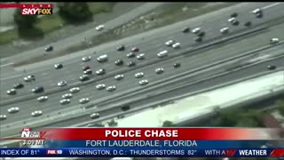 Corvette Police Chase... Foot Bail... Takedown