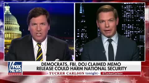 Watch: Tucker Gets So Heated After Dem Congressman Accuses Him of Working for Putin He Ends His Show