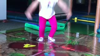 TamNhu having fun at the Monkey Playhouse  - Video