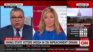 CNN: Democrats Turn Their Backs On Constituents To Support Pelosi's Unpopular Impeachment Inquiry