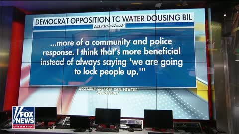 New York Dems block bill to make water attacks on cops a felony