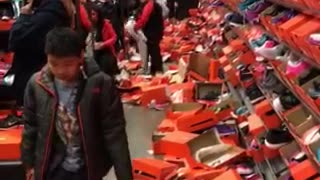 Black Friday aftermath captures store's complete devastation - Video