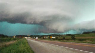 Storm chaser struck by lightning!