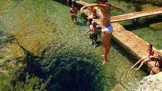 This swimming hole contains mysterious and dangerous secret - Video