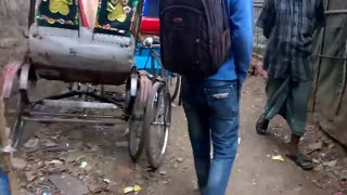 Inside of a Slum in Tejgaon, Dhaka, Bangladesh  - Video