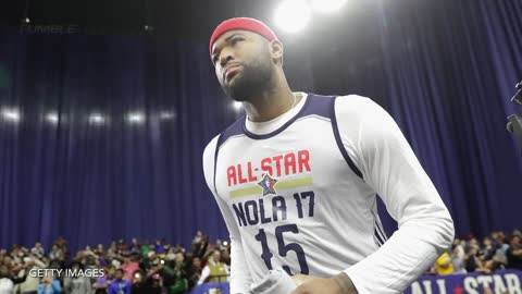 DeMarcus Cousins BREAKS DOWN into Tears In Front of Fans After Being Traded by the Kings