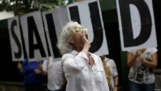 Venezuela Doctors in Protest Urge Stronger WHO Stance on Health Crisis - Video